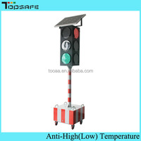 Construction Road Solar Powered Portable Traffic Light