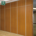 Movable acoustic partition for banquet hall of hotel