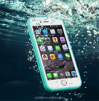 2016 touch screen silicone antidrop case waterproof case for iphone 6