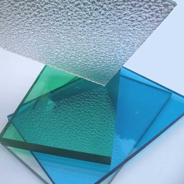clear Polycarbonate Embossed Sheet