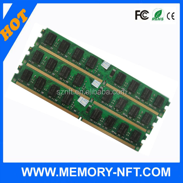 Factory big stock SODIMM/Longdimm ddr2 ram 2gb 667mhz 800mhz memory in good condition