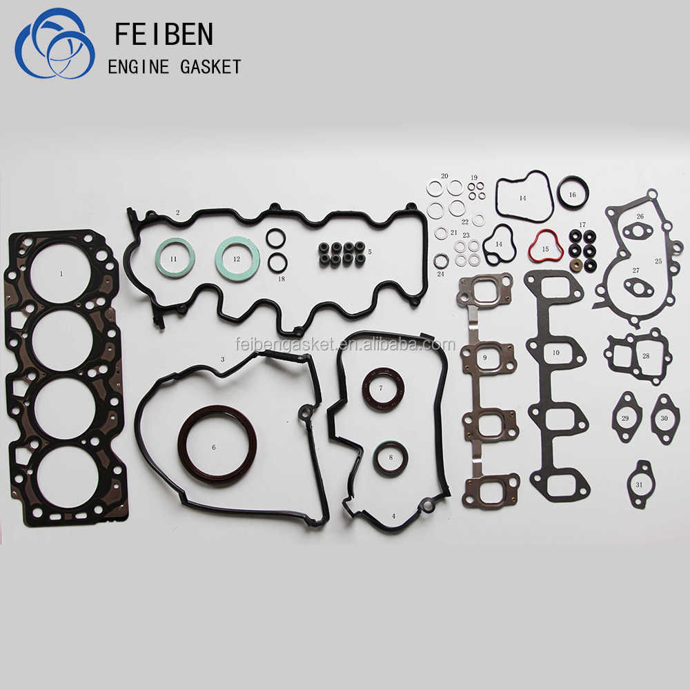2C Car Engine Accessories Full Gasket Set Engine Gasket With Cylinder Head Gasket For CARINA COROLLA 04111-64051