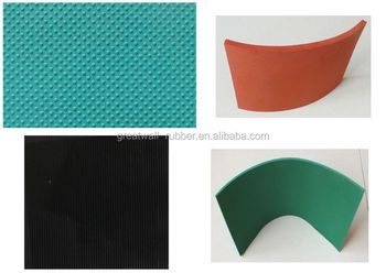 fine ribbed wide ribbed checkerwillow round button rubber mat anti-slip rubber flooring sheet mat backfabric impression