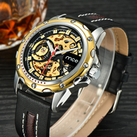 MCE branded luxury Skeleton Automatic Watch Mens Style Mechanical Watches 238