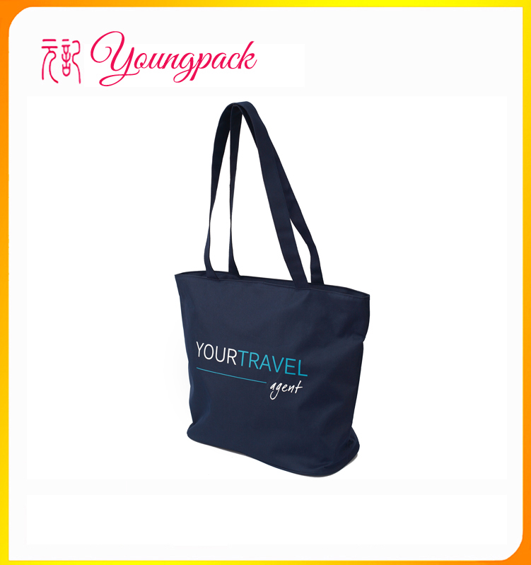 2016 High Quality Factory Nonwoven Shopping Bag With Zipper