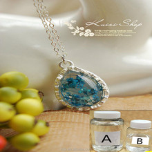 Good quality clear transparent liquid AB crystal glue epoxy doming resin for brand trademark hang necklace pendant