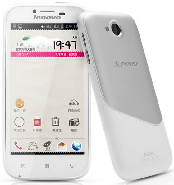Original Lenovo A706 Android 4.1 1.2GHz Quad-core Dual Sim Cards