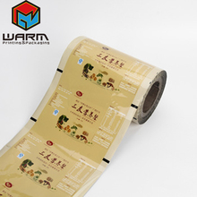 High quality food grade plastic packing film roll made in China for Nutritious tea