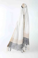 High quality custom popular ethiopian fabric polyester scarf