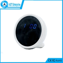 Hot selling Digital Alarm Clock CCTV Camera Full HD Spy Clock WIFI 1080P P2P Network Mini IP Camera Wifi Clock Camera