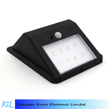 LED Outdoor Garden Motion Sensor Solar Outside Wall light