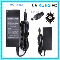 AC Adapter Charger 19V 3.95A for Toshiba Y159