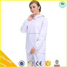 New trend food factories work uniforms ESD working smock for sale