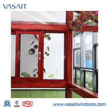 Customized aluminium frame sliding glass window with 10 years warranty