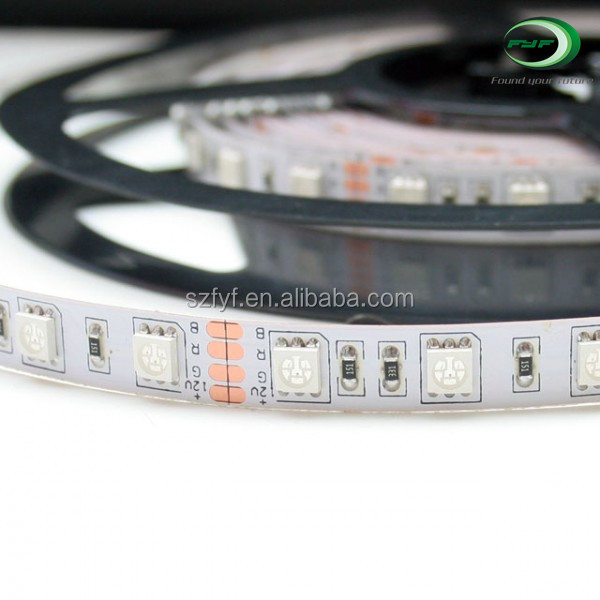 RGB flexible smd5050 high quality 60 leds / m high quality led strip