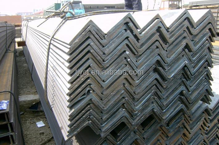 unequal hot rolled carbon mild steel angle bar/black carbon steel unequal angle bar factory/mill prices