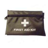 Mini waterproof emergency survival first aid kit