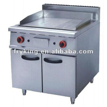 Commercial Gas Griddle With Cabiet