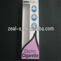 Custom Electronic Cigarettes/E-cigarette Packaging Box with clear Pvc window