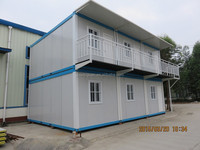 2015 fast installation building flat pack container house