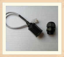 M20 IP68 waterproof rj45 ethernet connector