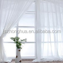 100% polyester voile wide curtain voile fabric