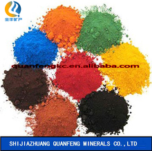 Heat resistance Inorganic iron oxide pigments for brick