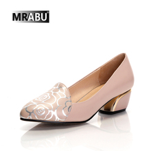 latest design leather shoes summer cheap slip-on women low heel shoes