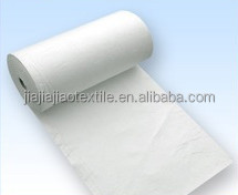 100% PP standard weight White High Quality 100%PP Recycled Oil Absorbent roll For Oil Pollution Control environment friendly