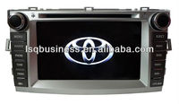 8 inch LED monitor/Bluetooth driver/fm radio/car music player for Toyota Verso,ST-8702