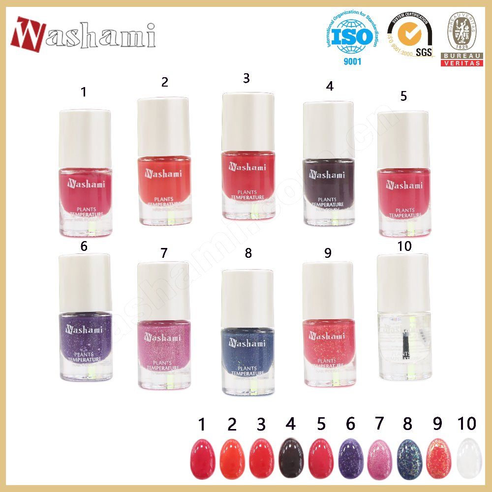 Washami Beautiful Colors Nail Art Cheap Price Nail Gel Polish
