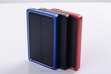 Tech Era Solar Power Charger 4000mAh LED Light Back Up Solar Battery For Samsung Mobile Phone, Apple iPhone, Nokia, Micro USB