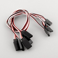 high quality 5pcs Servo receiver Y Extension Cord Cable connecting 300mm for JR IC connector