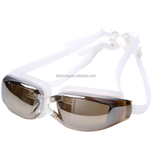 New Men Women Anti Fog Swimming Goggles Professional Electroplate Waterproof Swim Glasses