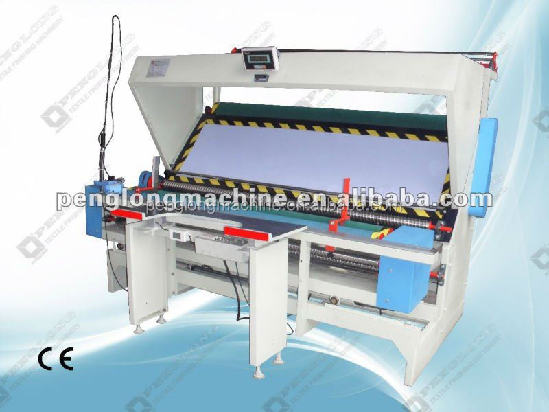 textile spinning machine, knitted fabric inspection machine and rolling machine