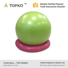2017 TOPKO wholesale hot sale fitness cheap adult PVC yoga exercise ball