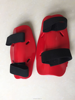 Taekwondo equipment dipped foam red color taekwondo elbow protectors