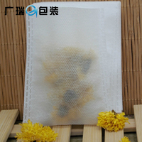 Food grade non-woven fabric filter empty tea bag with drawstring