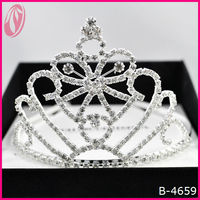 Wholesale Dramatic Pageant Tiara Crown