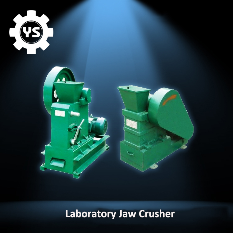 Mini Stone Breaking Lab Jaw Crusher Machine / High Quality Small Lab Jaw Crusher For Sale