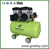 Shanghai Greeloy 3 Hp Oil Free Electric Low Noise Oil Free Air Compressor Hot Sale