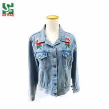 2018 Fashion Ladies Denim Jeans Jacket Woman