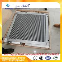 china Eninge spare Hydraulic torque Converter Oil Radiator 20C0157 for CLG856 Wheel loader parts