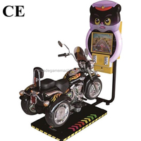 Amusement Park Center Indoor Equipment Kids Coin Operated Game Machine Electric Animal Cat 3D Moto Motorbike Video Kiddie Rides