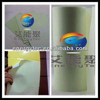 Luminous belt/photoluminescent/plastic films