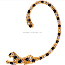 Discount Golden Tone Leopard Cuff Earring For Gift