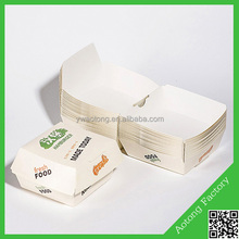 Cheap fast food box for Hamburger