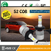 Extend Heat Dissipation Surface S2 with COB chip and 35W has High/Low beam models car led headlight dot