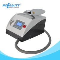 Low price all color pigment removal nd yag laser tattoo removal equipment price