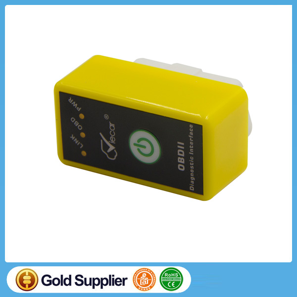 New Viecar Elm327 V1.5/2.1 with switch Bluetooth 2.0 OBD SCAN elm 327 code reader OBDII Diagnostic scan VC004-A/VC004-B